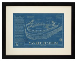 Ballpark Blue prints